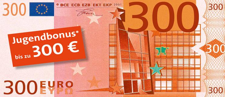 jetzt extra vorteil sichern bis 300 euro jugendbonus dbb vorsorgewerk. Black Bedroom Furniture Sets. Home Design Ideas