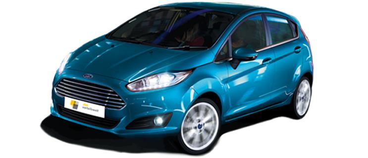 Neues Modell Ford Fiesta mit monatlicher Komplettrate