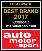 HUK-COBURG Best Brand 2017 Kategorie Kfz-Versicherungen