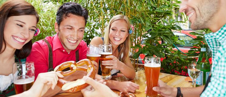 Sommerzeit ist Biergartenzeit