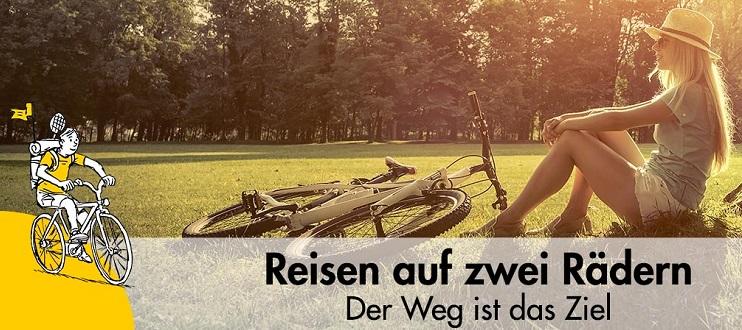 Reisen per Fahrrad