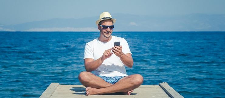 Reise App - Sicherheit beim Urlaubsgeld