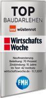 Wüstenrot-Siegel Wirtshaftswoche_Baudarlehen