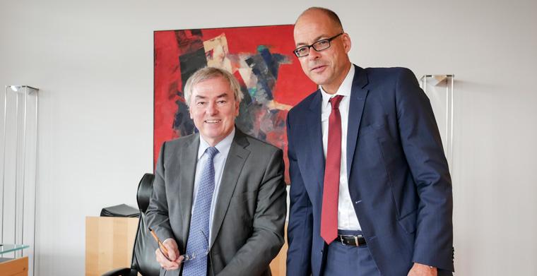 Interview: Klaus Dauderstädt und Dr. Alexander Schrader im Interview