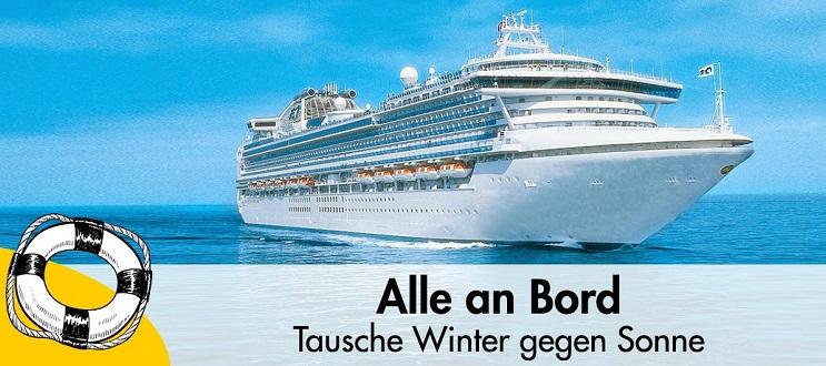 Kreuzfahrt: Alle an Bord
