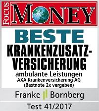 DBV-Siegel_BESTE_Krankenzusatzversicherung Auszeichnung Focus Money