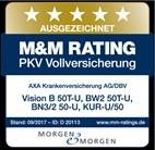 DBV-Siegel_M&M Vision B - Private Krankenversicherung