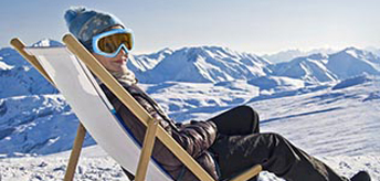 Skiurlaub und Winterferien