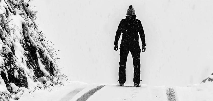 Zu Fuß im Winter sicher unterwegs
