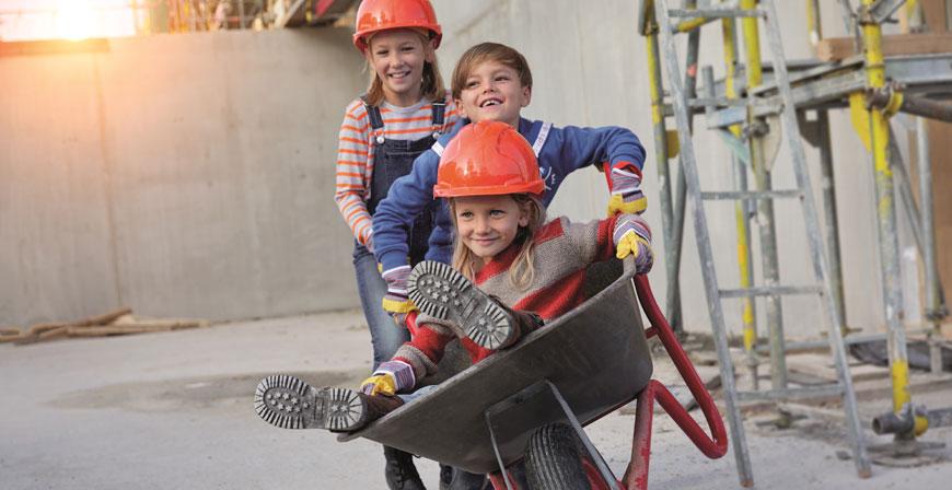 Beantragt wird das Baukindergeld bei der KfW.