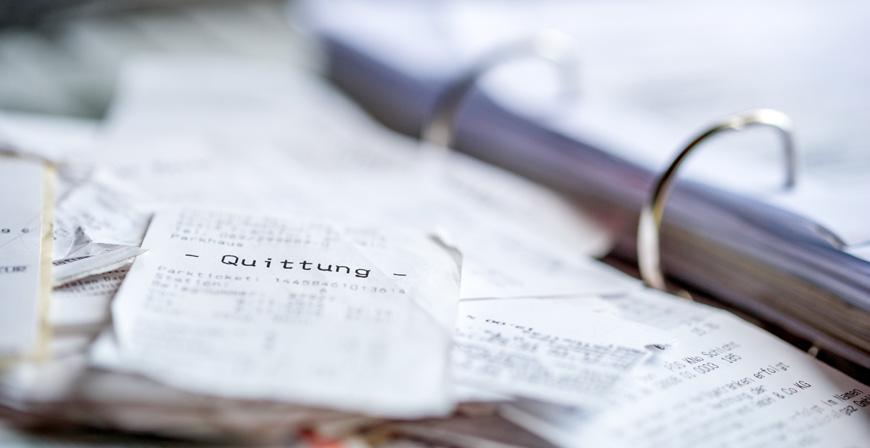 Kaufverträge, Quittungen und Kassenbons: Tipps zu Aufbewahrungsfristen privater Unterlagen