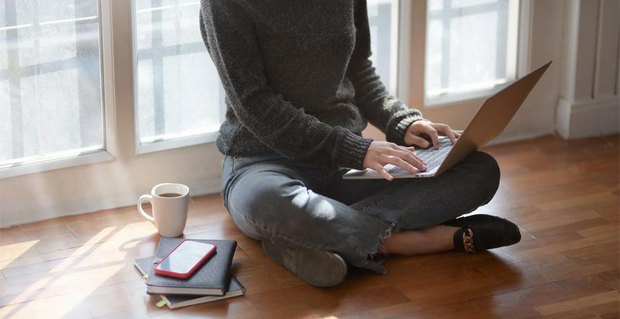 Versicherungsschutz: Sicher zu Hause arbeiten