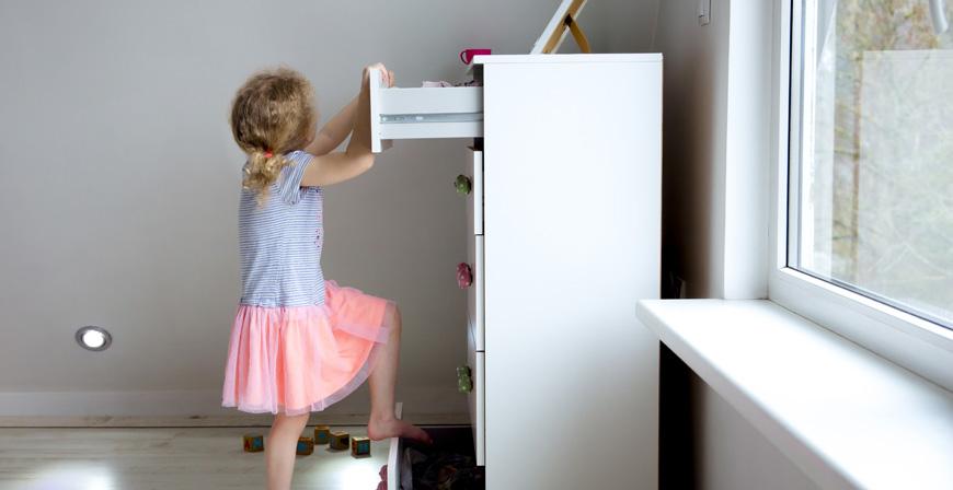 Unfallschutz für Kinder: Die Gefahren daheim nicht unterschätzen